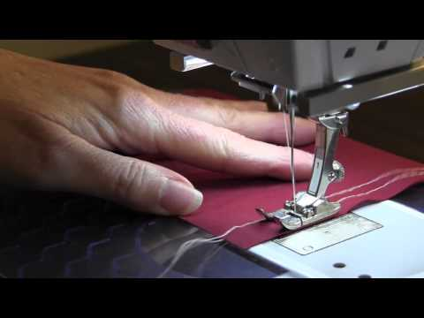 Gathering - Basting Stitch Method (Video)