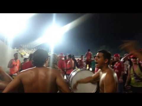 Entrada de Los Demonios Rojos en SC - 27/11/2013 - Los Demonios Rojos - Caracas