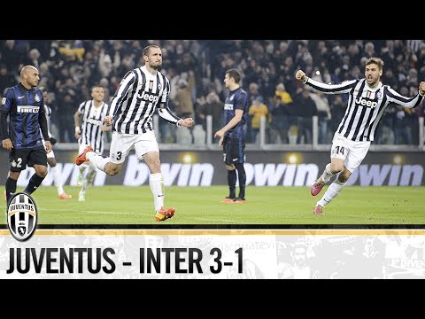 juventus inter 3-1 2013/2014 - highlights