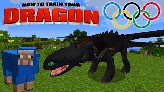 Video Minecraft - HOW TO TRAIN YOUR DRAGON - Dragon Olympics # 2 'Sheep Game' MP3, 3GP, MP4, WEBM, AVI, FLV Oktober 2018