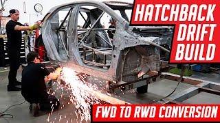 Video Drift Car Build FWD Corolla Hatchback to RWD 1000 Horsepower Conversion MP3, 3GP, MP4, WEBM, AVI, FLV Oktober 2018
