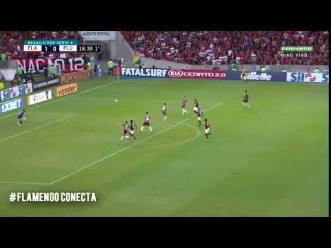 Bela defesa contra o Flamengo em 2019