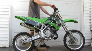 6. 2005 kawasaki kx 85 rebuilt for sale