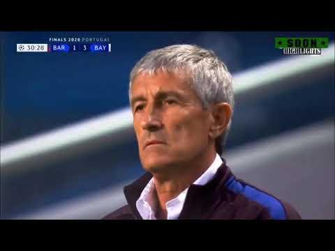Bayern Munich vs Barcelona 8 2 All Gals  Extndd Hghlghts 2020 HD