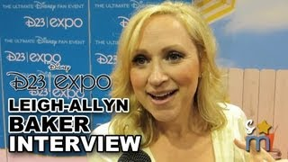 Leigh-Allyn Baker Reveals What She Took from GOOD LUCK CHARLIE Set - 2013 D23 Expo
