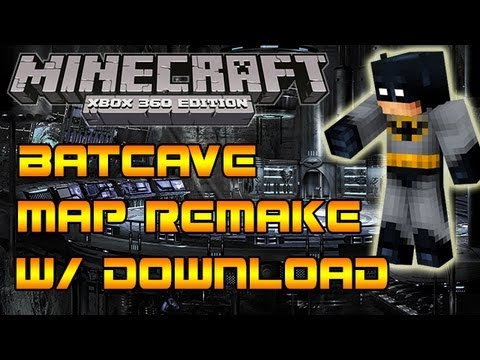 Minecraft Xbox 360: The Bat-Cave Map Download - EPIC! Batman on ...