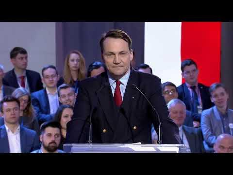 Radosław Sikorski był z nami na Radzie Krajowej. Uwaga – MOCNE! Posłuchajcie!