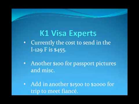 K1 Visa – How much does it cost