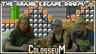 Mario Masters Colosseum: The Grand Escape Rooms! Working Together To Win!
