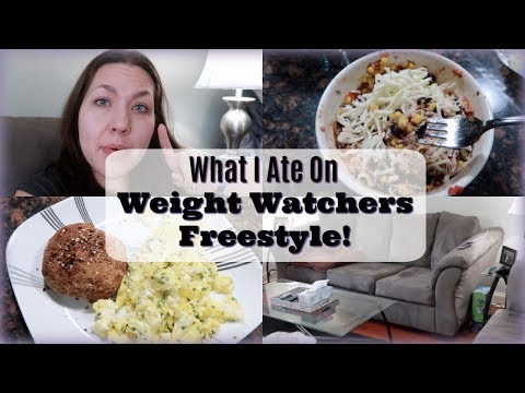 What I Ate On Weight Watchers Freestyle  What I Eat To Lose Weight  2/19/18