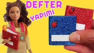 Video Barbie için Defter Yapımı | Oyuncak Butiğim MP3, 3GP, MP4, WEBM, AVI, FLV November 2017
