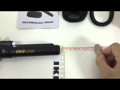 Gold Hunter Pro Pointer Metal Detecting Pinpoint Probe