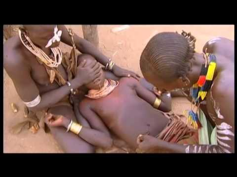 Footage Ethiopia. Karo, Body Scarification