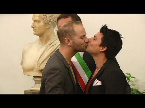 Ε.Δ.Α.Δ.: Υπόλογη η Ιταλία για τα δικαιώματα των ομοφυλοφίλων