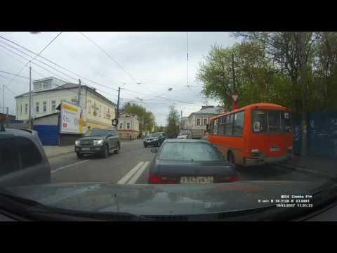 Авария в Нижнем Новгороде  с 1,05