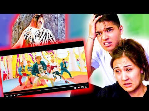 First Time REACTING to KPOP!!! (BTS, 2NE1, Girls Generation & MORE!)
