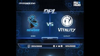 NewBee vs IG.V, DPL 2018, game 1 [Adekvat, Smile]