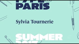 tptalks 17 : Sylvia Tournerie