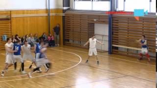 Finále krajského přeboru v basketbale rozhodla střela 3 vteřiny před koncem