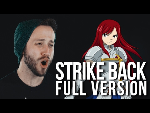 STRIKE BACK -  FULL English OP Cover (Fairy Tail Opening 16) by Jonathan Young feat. Ahren Gray