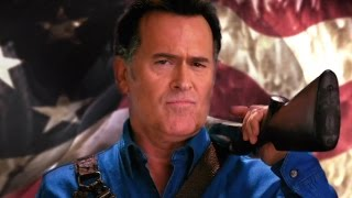 Ash vs. Evil Dead - Ash4President  - A Real Man in the White House (2016) Bruce Campbell by Movie Maniacs