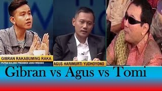 Video Gibran vs Agus vs Tomi (Gaya Anak-Anak Presiden RI) MP3, 3GP, MP4, WEBM, AVI, FLV November 2017