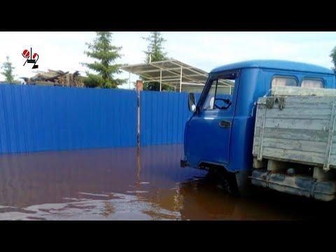 \Мама я огород уже полил\ Наводнение в Ивделе. Rеаl vidео - DomaVideo.Ru