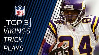 Top 3 Vikings Trick Plays | #TrickPlayThursdays | NFL by NFL