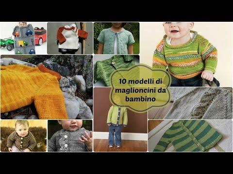 10 modelli di maglioncini da bambino