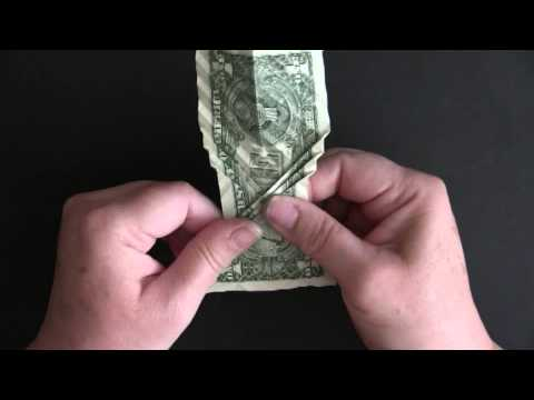 WATCH timelapse origami turns a dollar bill into a koi