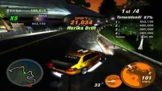 Need For Speed Underground 2 Drift Rekor...