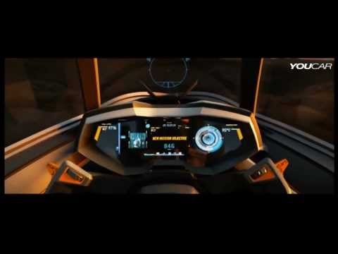 lamborghini egoista - official video