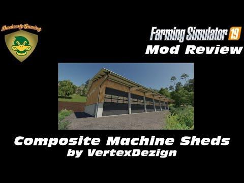 Composite Machine Sheds v1.0.0.0
