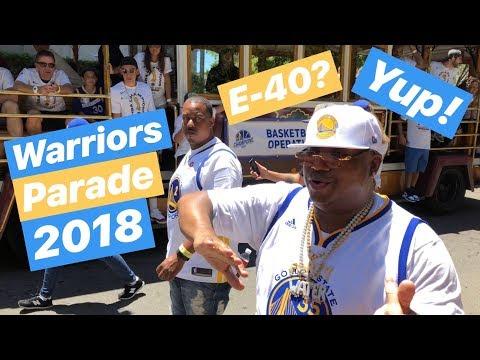 Warriors Parade 2018