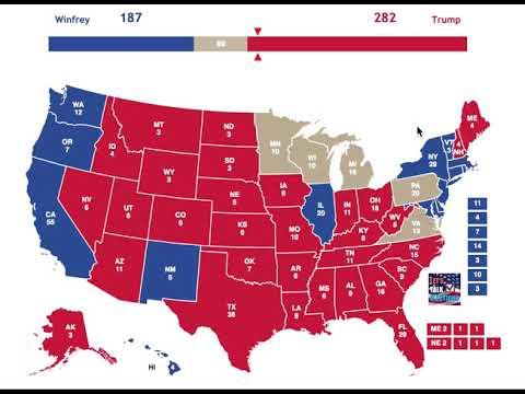 Oprah Winfrey vs Donald Trump | 2020 Election Prediction