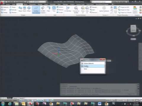 Surface Modeling in AutoCAD® 2011