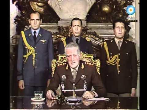 Archivo histórico: Galtieri - Cadena nacional - Respuesta a Gran Bretaña - 01-05-1982