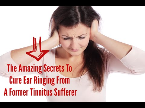 Natural Tinnitus Cures to Stop Ringing Ears