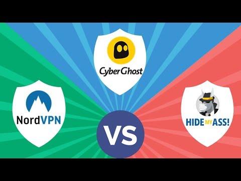 VPN Comparison - NordVPN vs. CyberGhost VPN vs HMA VPN: Which one is better?
