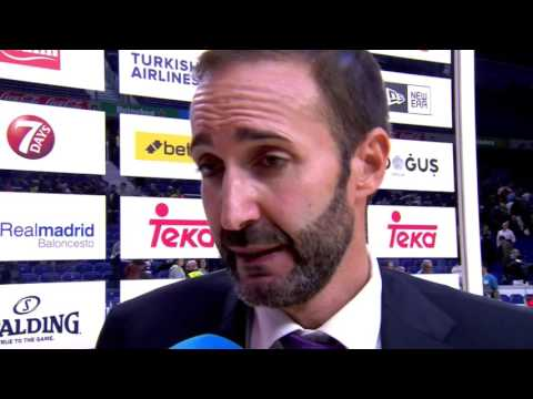 Post-game interview: Coach Alonso, Baskonia Vitoria Gasteiz