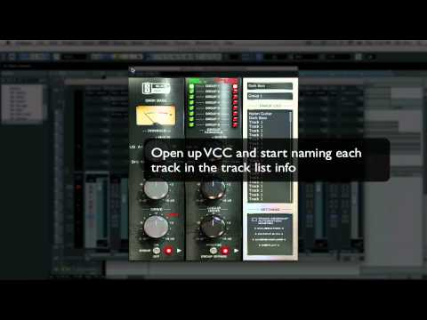 Slate Digital VCC – Grouping Tutorial – Cubase 5
