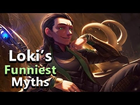Loki And His Funniest Myths - Norse Mythology Stories - See U In History