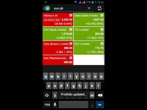 Video of Stock Tracker - Portfolio