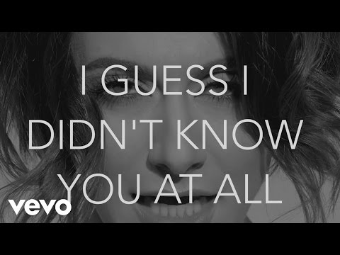 Didn't Know You (Lyric Video)