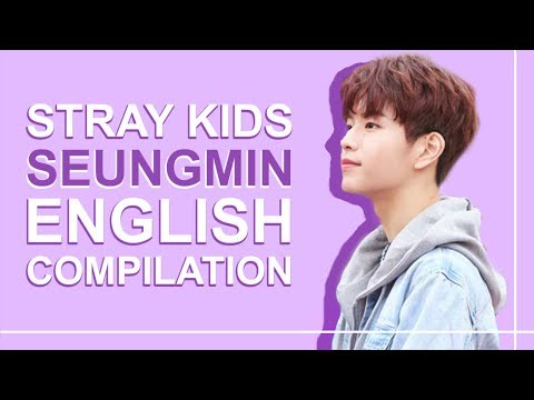 STRAY KIDS' SEUNGMIN SPEAKING ENGLISH | Pt. 2