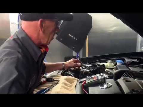 Vehicle Corrosion Control Module Installation