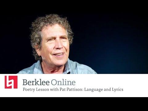 Online Poetry Lesson mit Pat Pattison: Sprache und Übersetzung