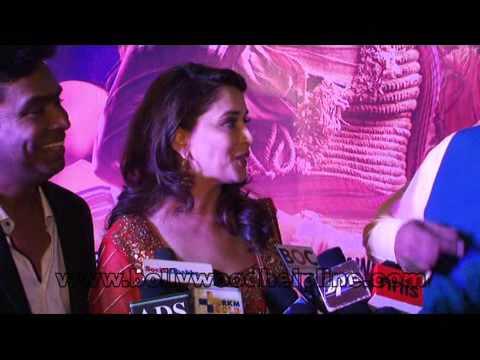 Madhuri Dixit,Juhi Chawla At Special Screening Of Film 'Gulaab Gang'