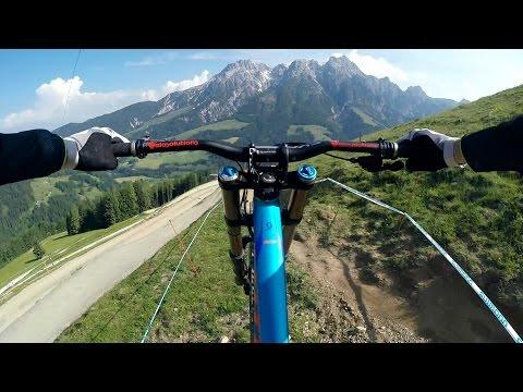 GoPro: Wild Downhill Ride with Claudio Caluori (видео)