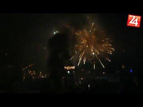 Silvestrovské oslavy a ohňostroj v Rožňave